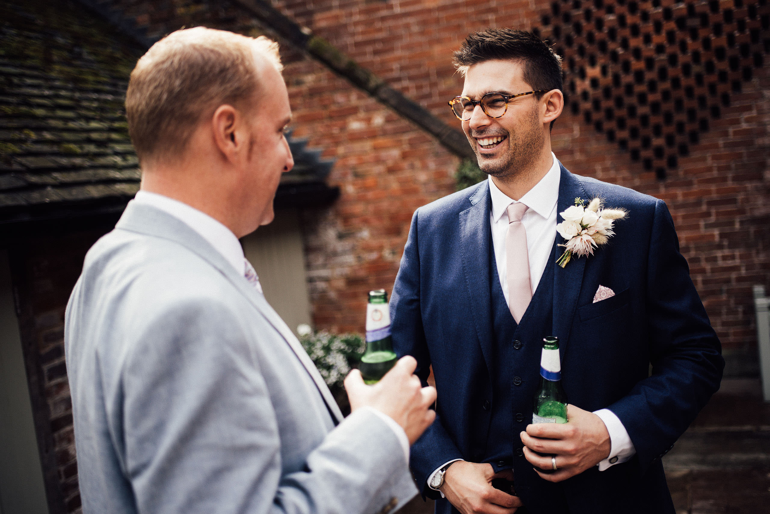 Shustoke barn wedding photography, creative and fun documentary photography.